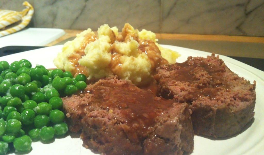 Meatloaf-Peas-Potatoes